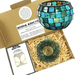 Paua Mosaic Tea Light Holder Pack