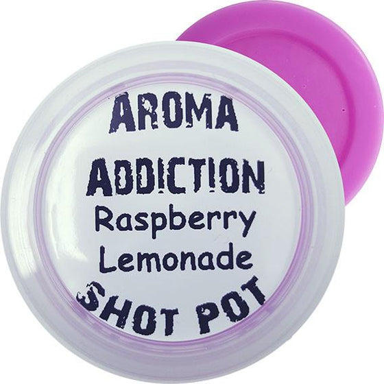 Raspberry Lemonade Soy Shot Pot Scented melts Aroma Addiction