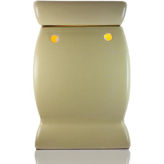 Electric Creamy Satin Melt Warmer - Bulb Operated