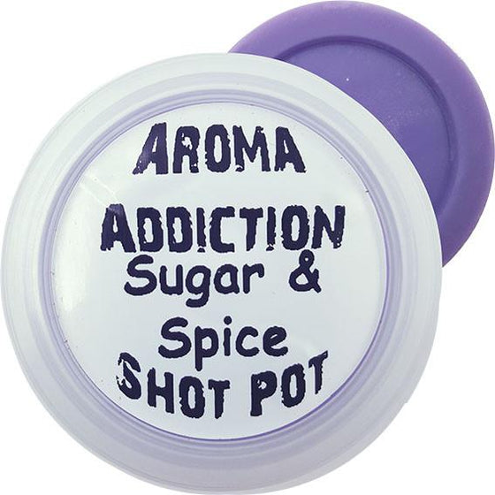 Sugar & Spice Shot Pot Scented melts Aroma Addiction