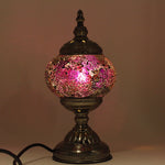 Turkish Mosaic Lamp - Sunset