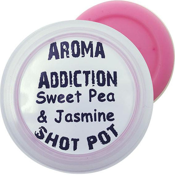 Sweet Pea and Jasmine Soy Shot Pot Scented melts Aroma Addiction