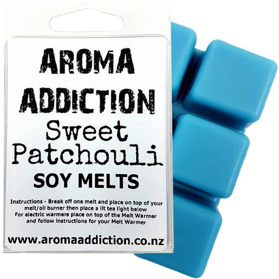 Sweet Patchouli Soy Scented Melt Pack