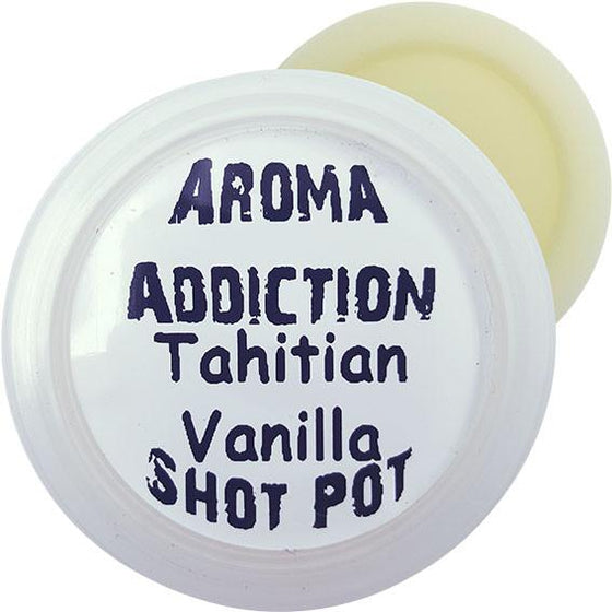 Tahitian Vanilla Soy Shot Pot Scented melts Aroma Addiction