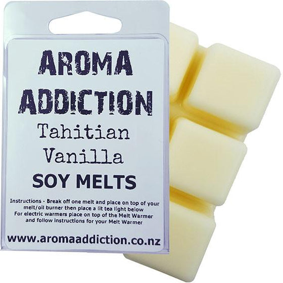 Tahitian Vanilla Soy Melt Pack Scented melts Aroma Addiction