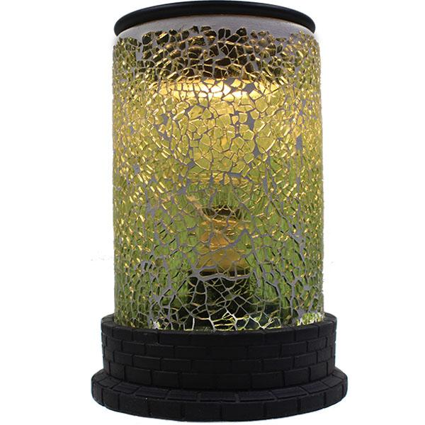 Teal Mosaic Electric Melt Warmer