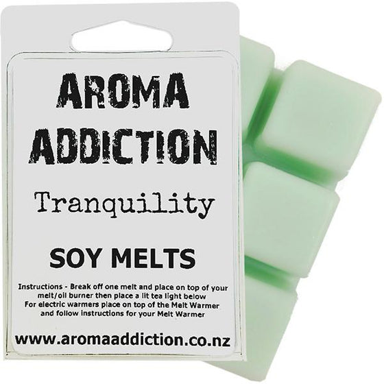 Tranquillity Scented Soy Melt Pack - Scented melts - Aroma Addiction- - 1