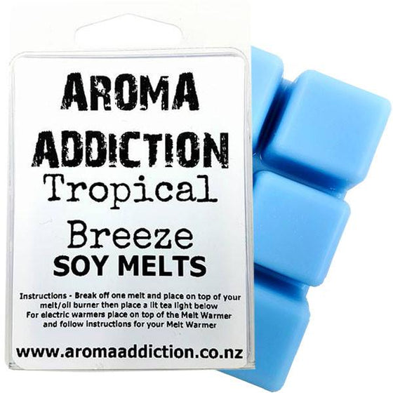 Tropical Breeze Scented Soy Melt Pack