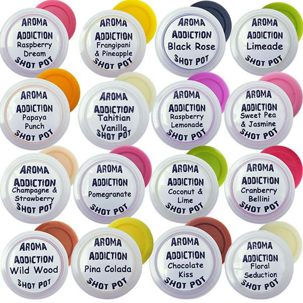 16 Pack Soy Shot Pots - Best Sellers Bundle **New Scents** Scented melts Aroma Addiction