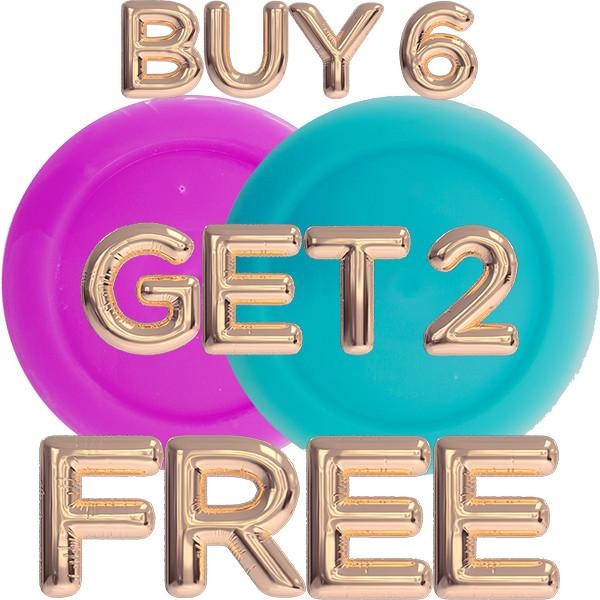 Buy 6 Shot Pots Get Two FREE!