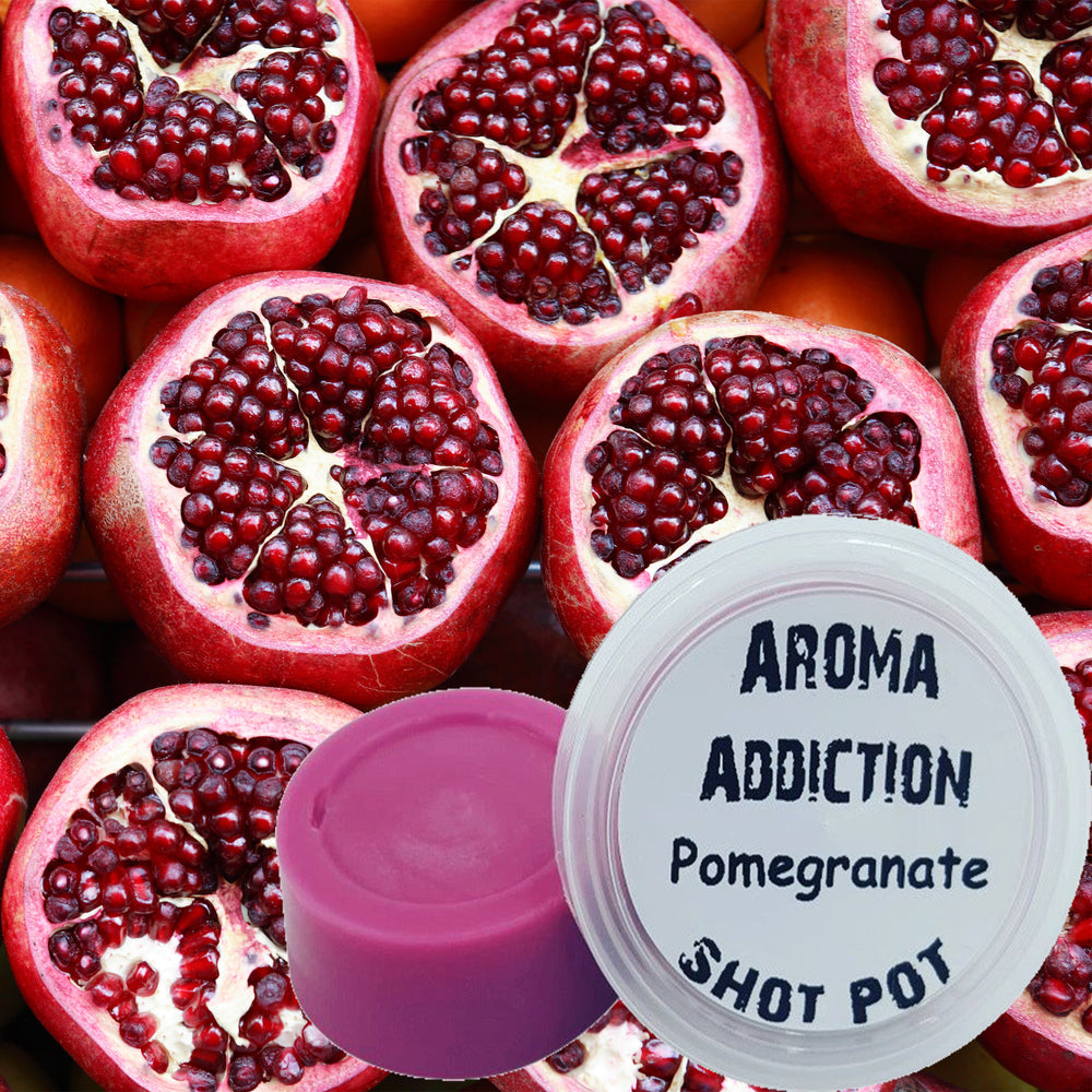Pomegranate Soy Shot Pot  Aroma Addiction