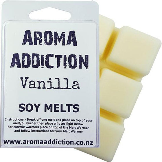 Vanilla Soy Melt Pack Scented melts Aroma Addiction