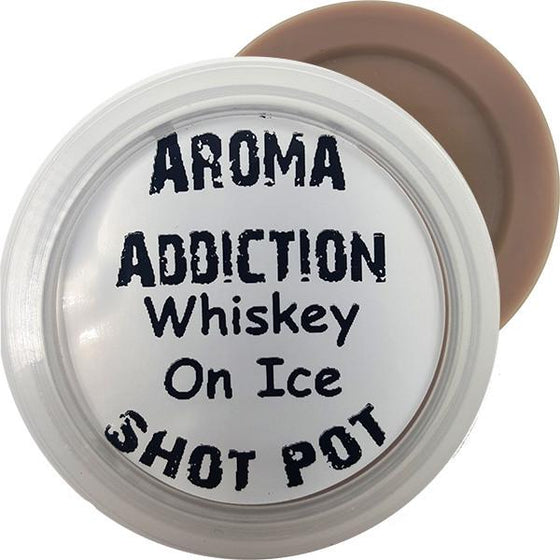 Whiskey On Ice Soy Shot Pot - Intro Offer 50% off - Scented melts - Aroma Addiction- - 1