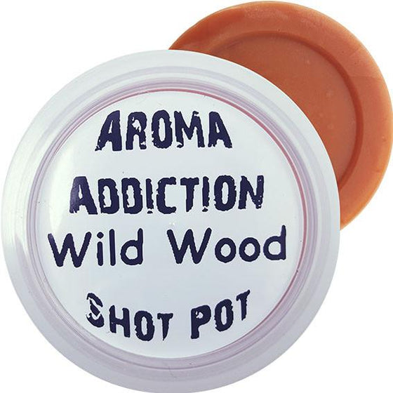 Wild Wood Soy Shot Pot Scented melts Aroma Addiction