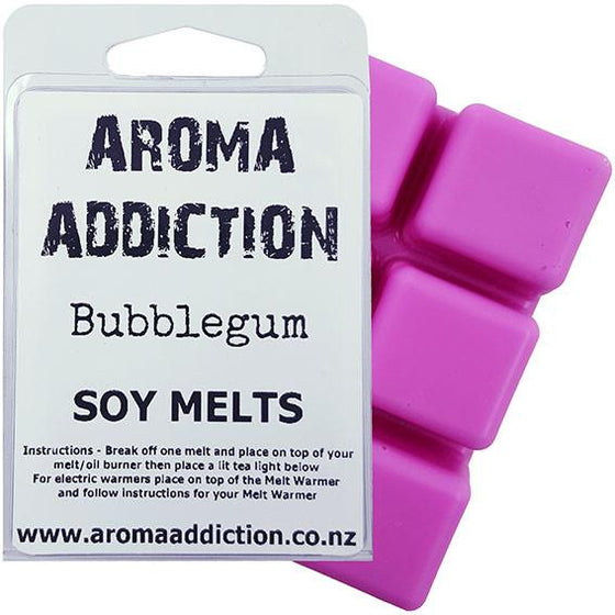 Bubblegum Soy Melt Pack Scented melts Aroma Addiction