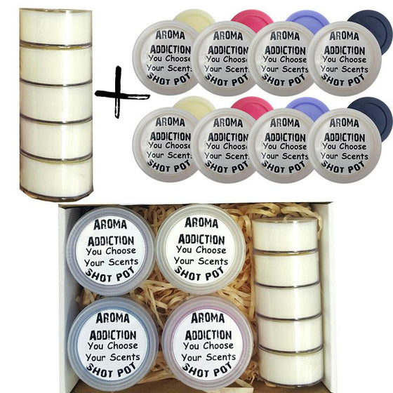 Temptation Shot Pot Box Set Scented melts Aroma Addiction