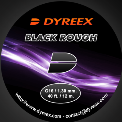 Dyreex Black Rough