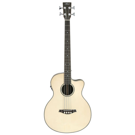 Artist ABJ50CEQ Electro-Acoustic Bass with Cutaway and EQ  Gloss Natural