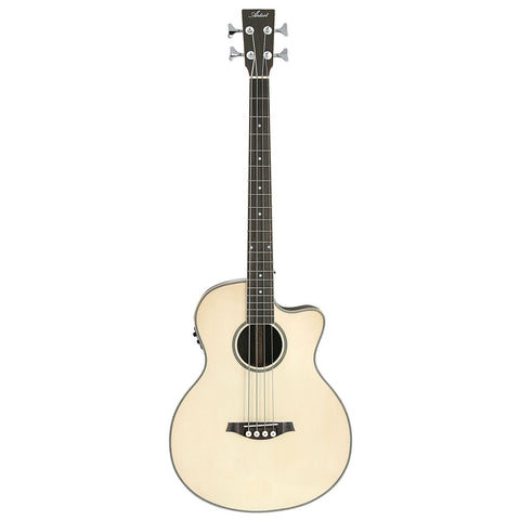 Artist ABJ50CEQ Acoustic Electric Bass with Cutaway and EQ - Gloss Natural