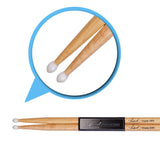 Artist DSM5AN Maple 5A Drum Sticks With Nylon Tips