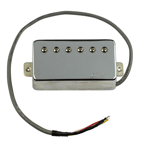 Artist BullBucker Guitar Humbucker Pickup Neck - Chrome Covered