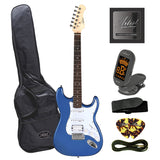 Artist STH Metallic Blue Electric Guitar + Humbucker