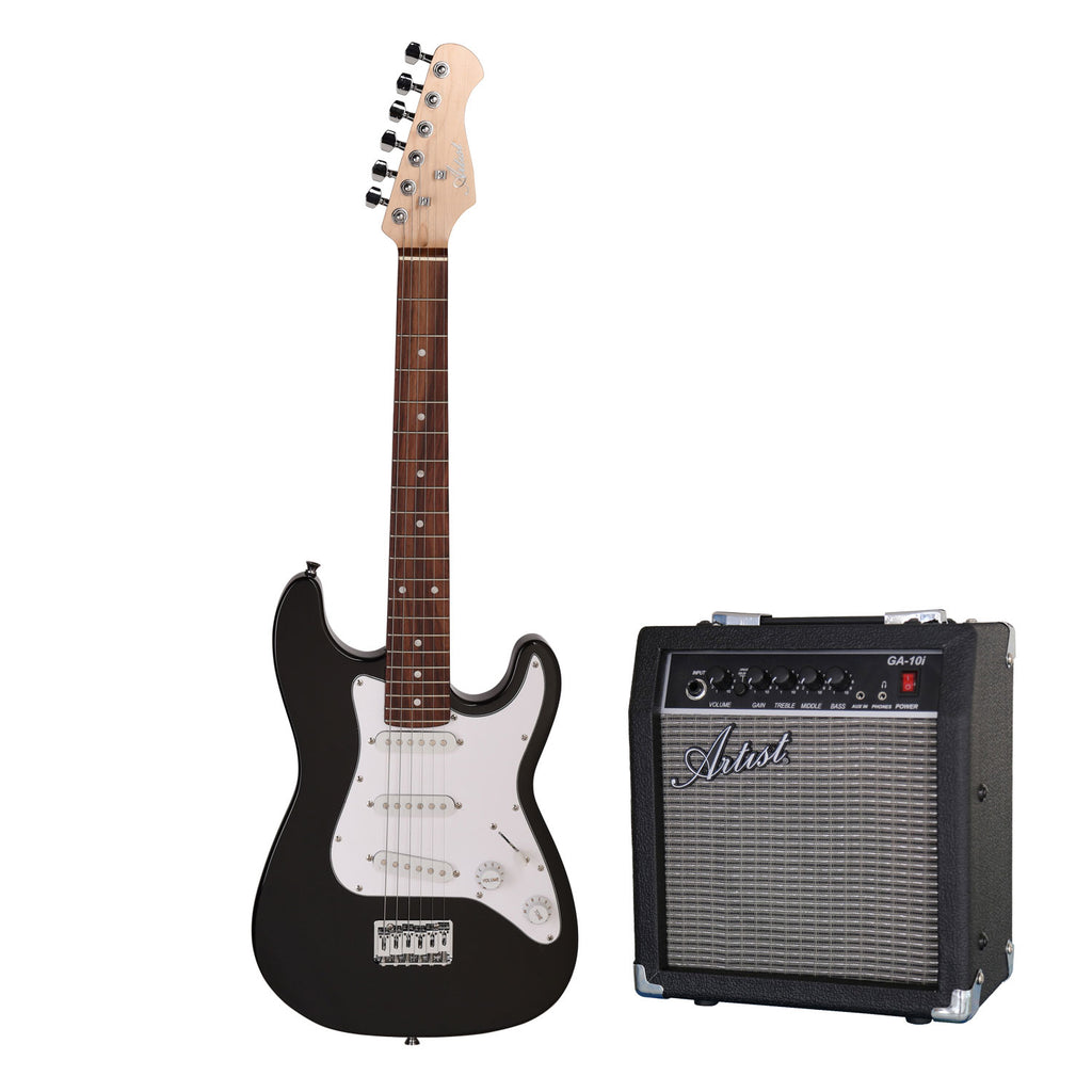 Artist MiniS Pack 3/4 Size Small Body Electric Guitar + Amp