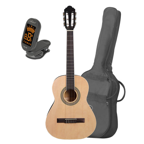 Artist CB3 3/4 Size Classical Nylon String Guitar + Bag and Tuner