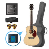 Artist LSP34 3/4 Size Beginner Acoustic Guitar Pack - Gloss Natural