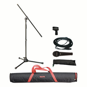 Superlux MSKA(X) Microphone Package with Stand and Carry Bag
