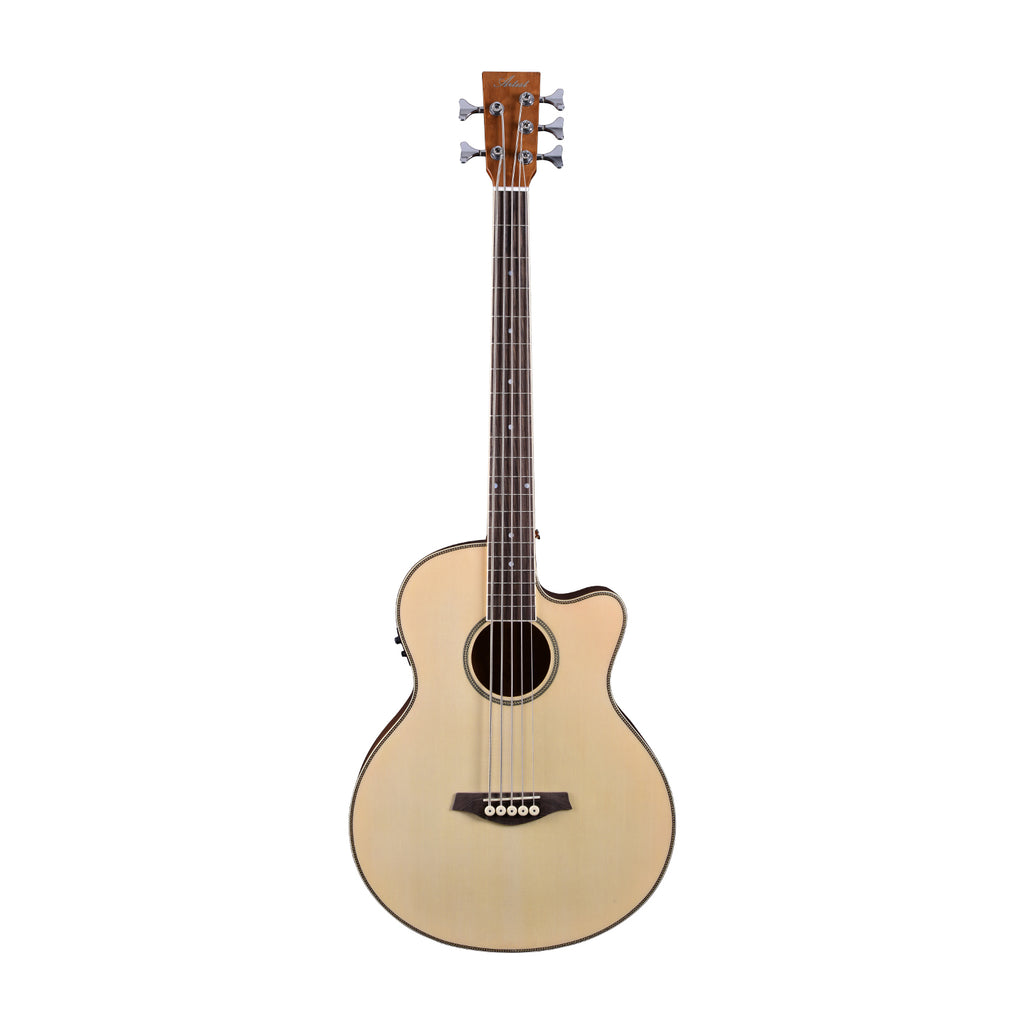 Artist ABJ605CEQ 5-String Electro-Acoustic Bass with Cutaway and EQ