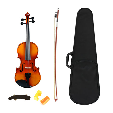 Artist SVN44 Solid Wood Student Violin Package 4/4 - Full Size