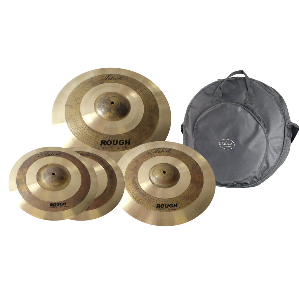 Artist RLPK Rough Light Cymbal Pack + Bag