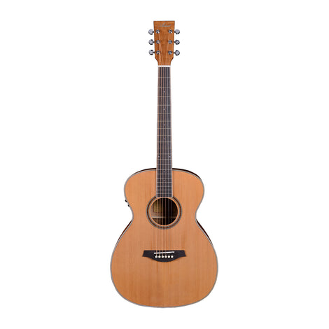 Artist OMC200EQ Solid Top Acoustic Guitar OM Size with EQ