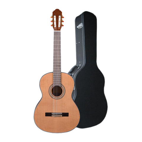 Artist HG39303 Classical Guitar Solid Cedar Top + Hard Case