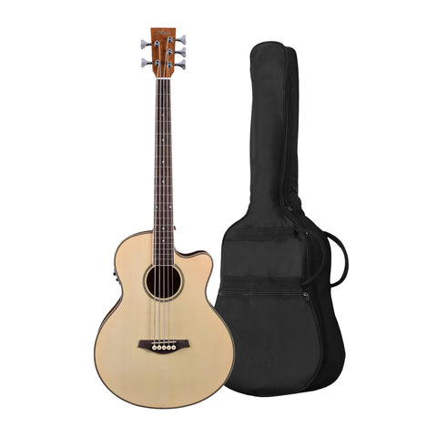 Artist ABJ605CEQ 5-String Electro-Acoustic Bass with EQ + Bag