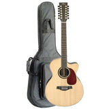 Artist JM18012CEQ Acoustic 12 String Guitar, Solid Top Jumbo + EQ