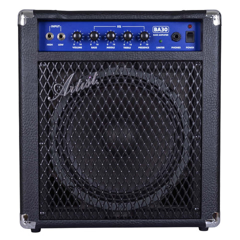Artist BA30 30W Bass Guitar Amplifier with Passive/Active Input