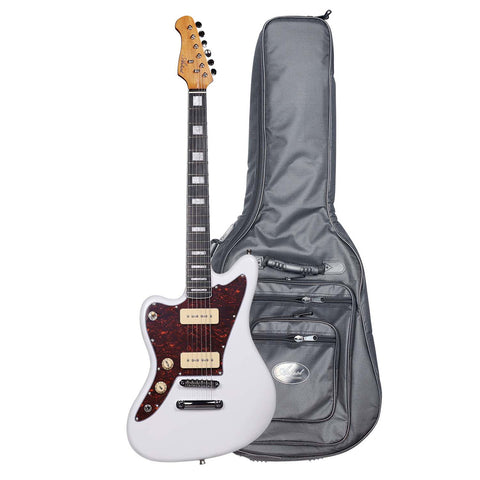 Artist GM1L Grungemaster Left Handed JM Style Electric Guitar + HG Bag