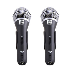 Superlux PRAC1 Supercardioid Dynamic Vocal Microphone x 2