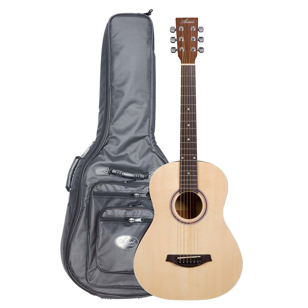 Artist Little Artist EQ 3/4 Solid Top Acoustic Guitar + EQ with HG Bag
