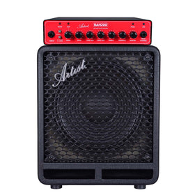 Artist BAH200 200w Bass Amp Head with Cabinet