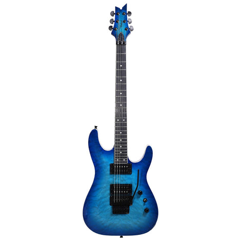 Artist GNOSIS6FR Blue Cloud Electric Guitar with Floyd Rose