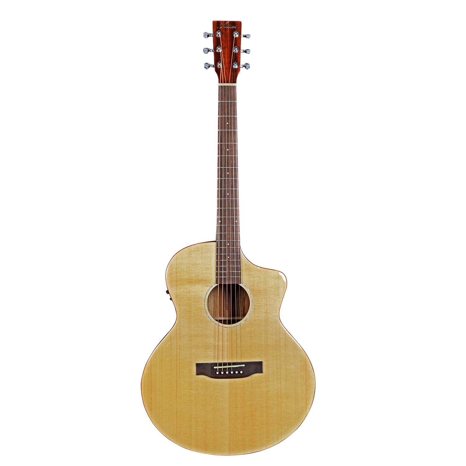 Artist JMZ200CEQ Solid Sitka Top Acoustic-Electric with Preamp