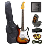 Customer Returned Artist STH Brown Sunburst Electric Guitar + Humbucker
