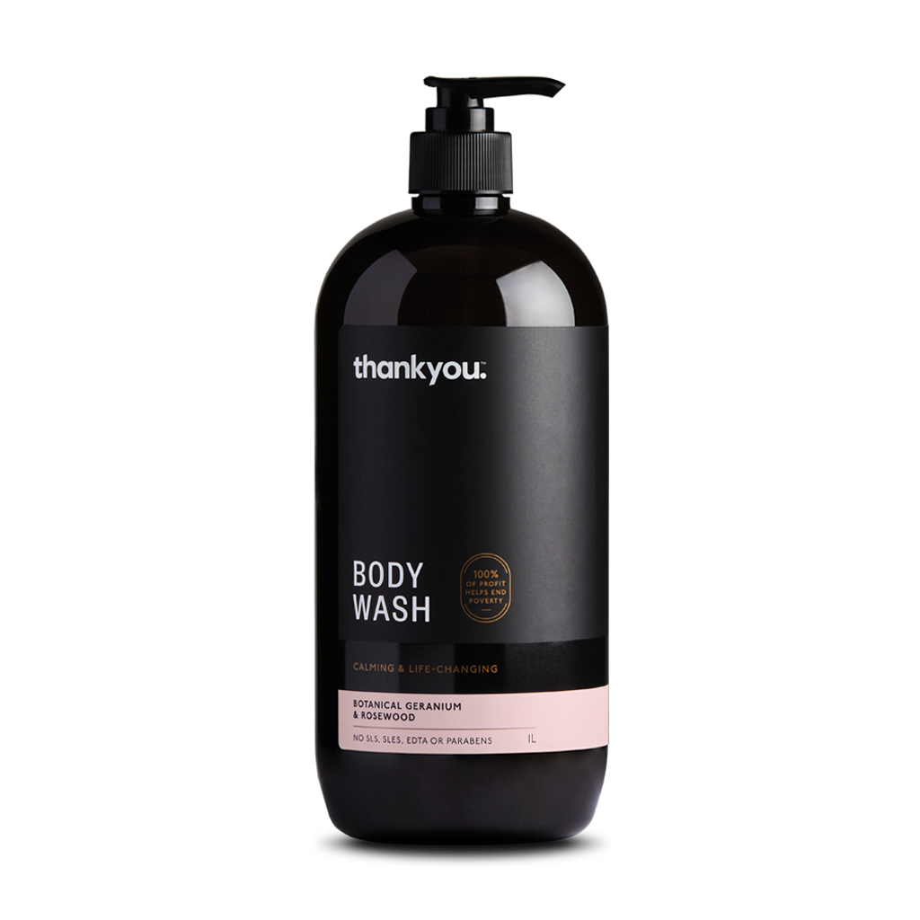 Botanical Geranium & Rosewood Body Wash | 1L