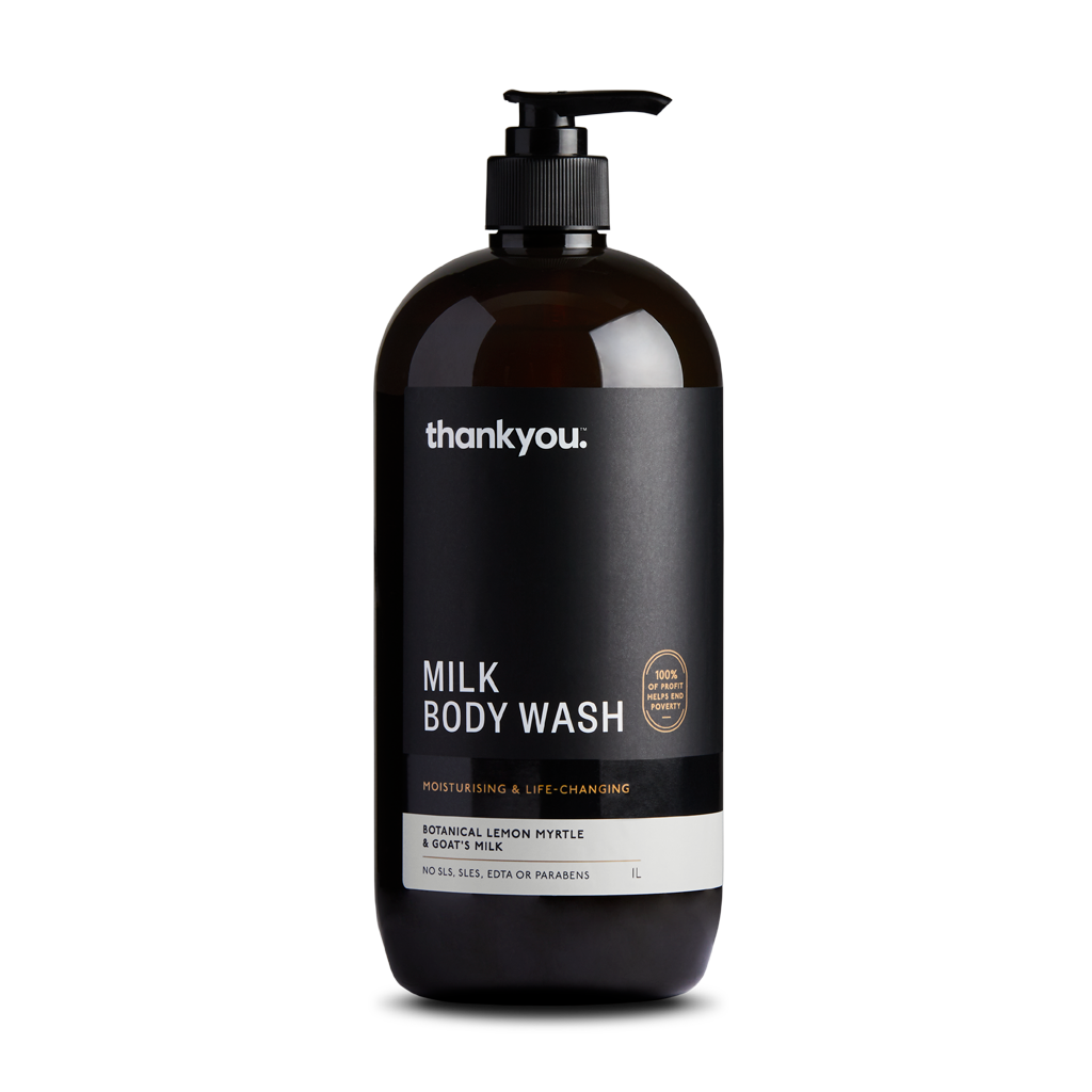 Botanical Lemon Myrtle & Goat's Milk Body Wash | 1L