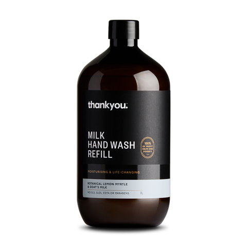 Botanical Lemon Myrtle & Goat's Milk Hand Wash Refill | 1L