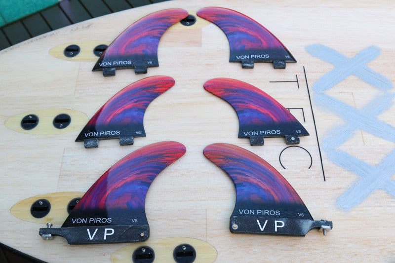 VP Limited edition Combo Sup Fins (NO V6 USA REARS OUT OF STOCK)