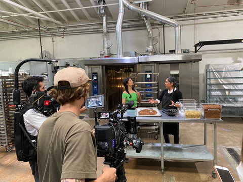 kitchen and filming
